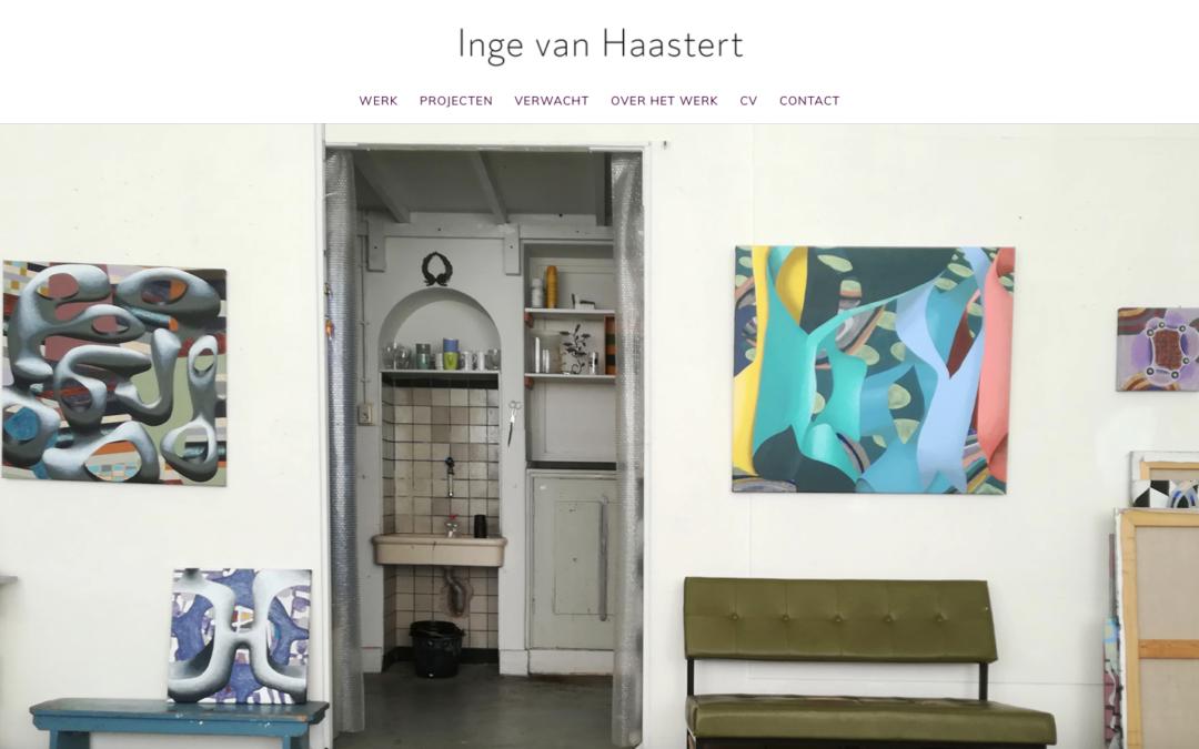 Nieuwe website voor Inge