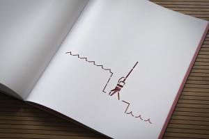 Lasersnede, verbeelding van het RDM-terrein