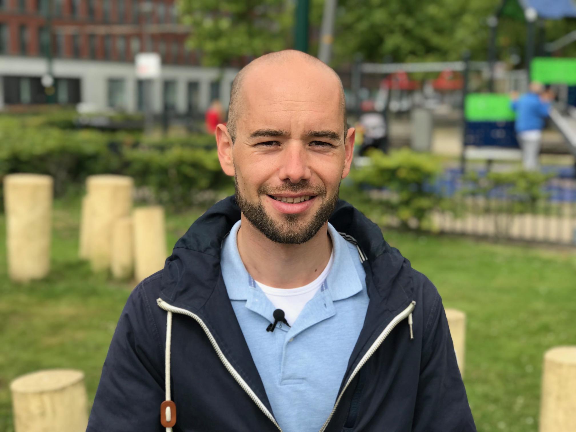 Ruben, coach bij Mantelkring