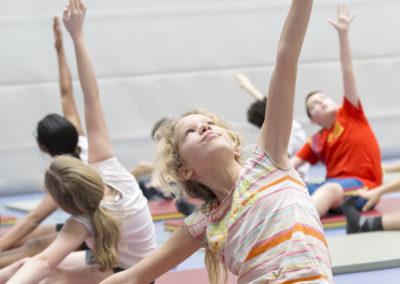 Gymles met yoga